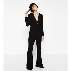 Zara Long sleeve jumpsuit